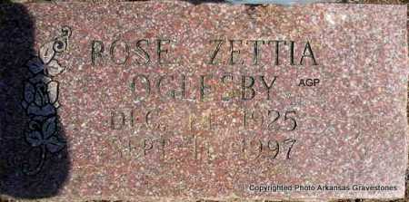 OGLESBY, ROSE ZETTIA - Montgomery County, Arkansas | ROSE ZETTIA OGLESBY - Arkansas Gravestone Photos