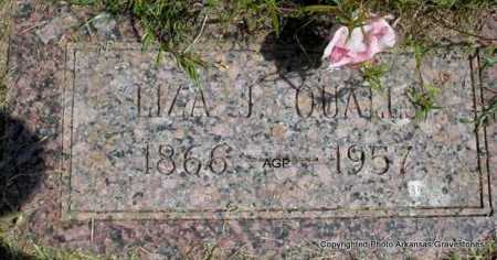 QUALLS, LIZA J. - Montgomery County, Arkansas   LIZA J. QUALLS - Arkansas Gravestone Photos