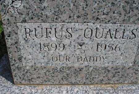 QUALLS, RUFUS - Montgomery County, Arkansas | RUFUS QUALLS - Arkansas Gravestone Photos