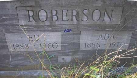 ROBERSON, ED - Montgomery County, Arkansas | ED ROBERSON - Arkansas Gravestone Photos