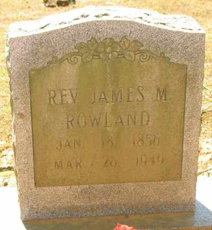 ROWLAND, JAMES MELTON - Montgomery County, Arkansas | JAMES MELTON ROWLAND - Arkansas Gravestone Photos