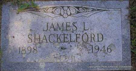 SHACKELFORD, JAMES L. - Montgomery County, Arkansas   JAMES L. SHACKELFORD - Arkansas Gravestone Photos