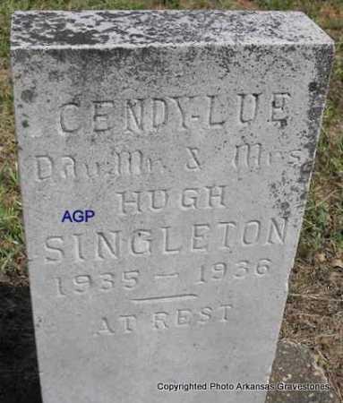 SINGLETON, CENDY-LUE - Montgomery County, Arkansas | CENDY-LUE SINGLETON - Arkansas Gravestone Photos