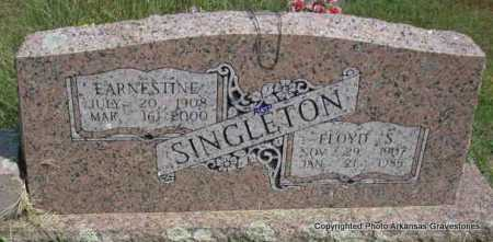 SINGLETON, FLOYD S - Montgomery County, Arkansas | FLOYD S SINGLETON - Arkansas Gravestone Photos