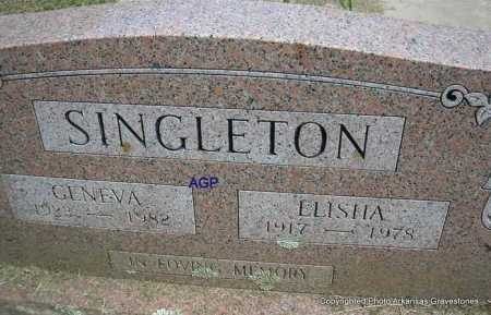 SINGLETON, GENEVA - Montgomery County, Arkansas | GENEVA SINGLETON - Arkansas Gravestone Photos