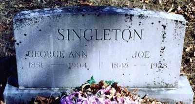 SINGLETON, GEORGE ANN - Montgomery County, Arkansas | GEORGE ANN SINGLETON - Arkansas Gravestone Photos