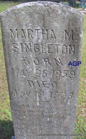 SINGLETON, MARTHA M. - Montgomery County, Arkansas | MARTHA M. SINGLETON - Arkansas Gravestone Photos