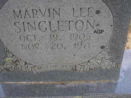 SINGLETON, MARVIN LEE - Montgomery County, Arkansas | MARVIN LEE SINGLETON - Arkansas Gravestone Photos