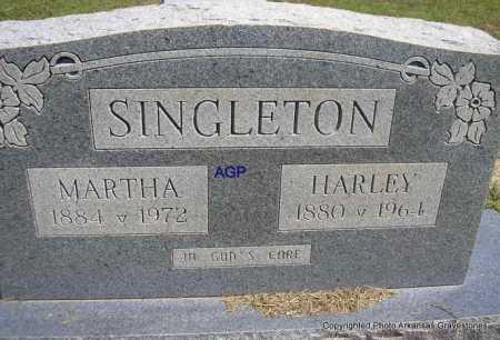 SINGLETON, HARLEY - Montgomery County, Arkansas | HARLEY SINGLETON - Arkansas Gravestone Photos