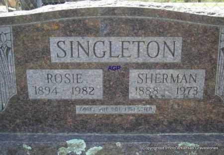 SINGLETON, ROSIE - Montgomery County, Arkansas | ROSIE SINGLETON - Arkansas Gravestone Photos