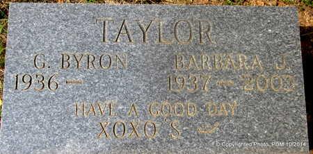TAYLOR, BARBARA J - Montgomery County, Arkansas | BARBARA J TAYLOR - Arkansas Gravestone Photos