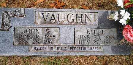 VAUGHN, ETHEL - Montgomery County, Arkansas | ETHEL VAUGHN - Arkansas Gravestone Photos