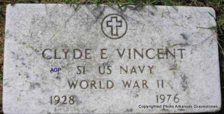 VINCENT  (VETERAN WWII), CLYDE E - Montgomery County, Arkansas | CLYDE E VINCENT  (VETERAN WWII) - Arkansas Gravestone Photos