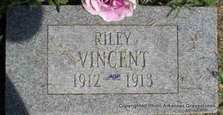 VINCENT, RILEY - Montgomery County, Arkansas | RILEY VINCENT - Arkansas Gravestone Photos