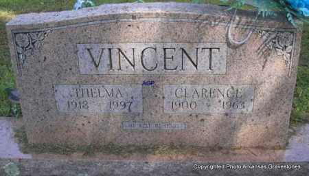 VINCENT, CLARENCE - Montgomery County, Arkansas | CLARENCE VINCENT - Arkansas Gravestone Photos