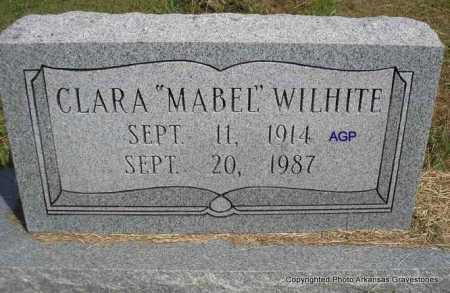 "WILHITE, CLARA ""MABEL"" - Montgomery County, Arkansas 