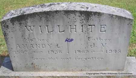 WILLHITE, J  V - Montgomery County, Arkansas | J  V WILLHITE - Arkansas Gravestone Photos