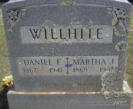 WILLHITE, MARTHA J - Montgomery County, Arkansas | MARTHA J WILLHITE - Arkansas Gravestone Photos