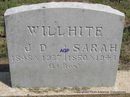 WILLHITE, SARAH - Montgomery County, Arkansas | SARAH WILLHITE - Arkansas Gravestone Photos