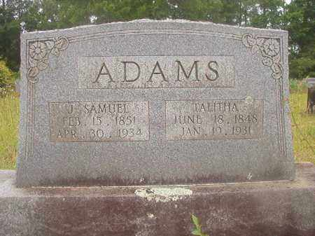 ADAMS, TALITHA - Nevada County, Arkansas | TALITHA ADAMS - Arkansas Gravestone Photos