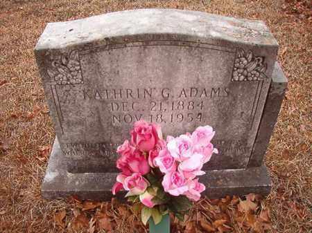 ADAMS, KATHRIN G - Nevada County, Arkansas | KATHRIN G ADAMS - Arkansas Gravestone Photos