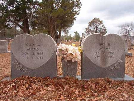 ADAMS, RUTH M - Nevada County, Arkansas | RUTH M ADAMS - Arkansas Gravestone Photos