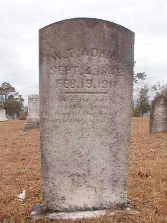 ADAMS, W T - Nevada County, Arkansas | W T ADAMS - Arkansas Gravestone Photos