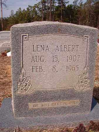 ALBERT, LENA - Nevada County, Arkansas   LENA ALBERT - Arkansas Gravestone Photos