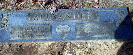 ALEXANDER, AUGUSTA - Nevada County, Arkansas | AUGUSTA ALEXANDER - Arkansas Gravestone Photos