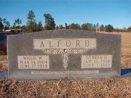ALFORD, GENEVA H - Nevada County, Arkansas | GENEVA H ALFORD - Arkansas Gravestone Photos