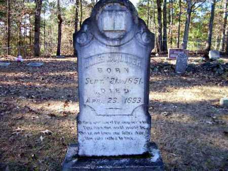 ALLDER, JAMES G. - Nevada County, Arkansas | JAMES G. ALLDER - Arkansas Gravestone Photos