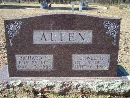 ALLEN, RICHARD H, - Nevada County, Arkansas | RICHARD H, ALLEN - Arkansas Gravestone Photos
