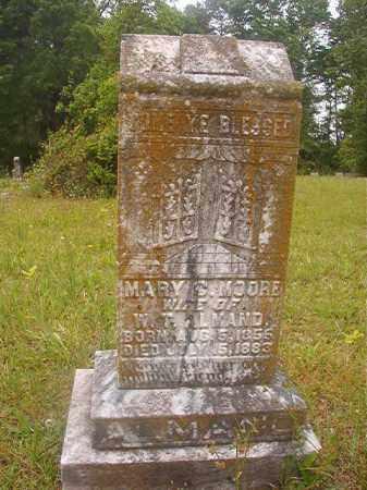 MOORE ALMAND, MARY C - Nevada County, Arkansas | MARY C MOORE ALMAND - Arkansas Gravestone Photos