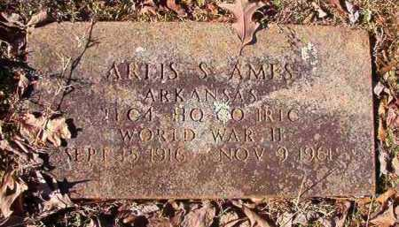 AMES (VETERAN WWII), ARLIS S - Nevada County, Arkansas | ARLIS S AMES (VETERAN WWII) - Arkansas Gravestone Photos