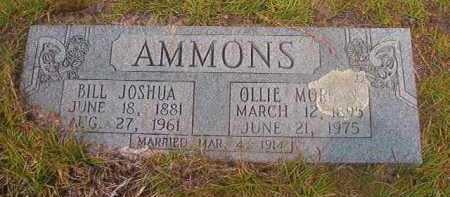 AMMONS, BILL JOSHUA - Nevada County, Arkansas | BILL JOSHUA AMMONS - Arkansas Gravestone Photos