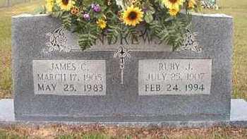 ANDREWS, RUBY J - Nevada County, Arkansas | RUBY J ANDREWS - Arkansas Gravestone Photos