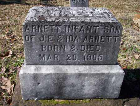 ARNETT, INFANT SON - Nevada County, Arkansas | INFANT SON ARNETT - Arkansas Gravestone Photos