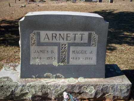 ARNETT, MAGGIE J. - Nevada County, Arkansas | MAGGIE J. ARNETT - Arkansas Gravestone Photos
