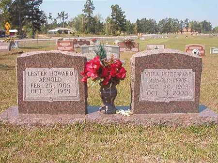 ARNOLD, LESTER HOWARD - Nevada County, Arkansas | LESTER HOWARD ARNOLD - Arkansas Gravestone Photos