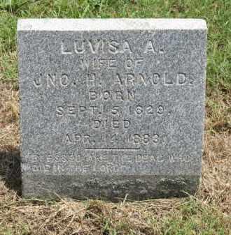 BAIRD ARNOLD, LUVISA A. - Nevada County, Arkansas | LUVISA A. BAIRD ARNOLD - Arkansas Gravestone Photos
