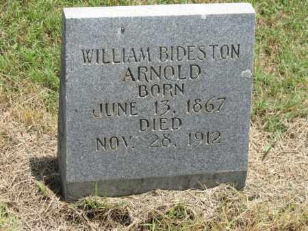 ARNOLD, WILLIAM BIDESTON - Nevada County, Arkansas   WILLIAM BIDESTON ARNOLD - Arkansas Gravestone Photos