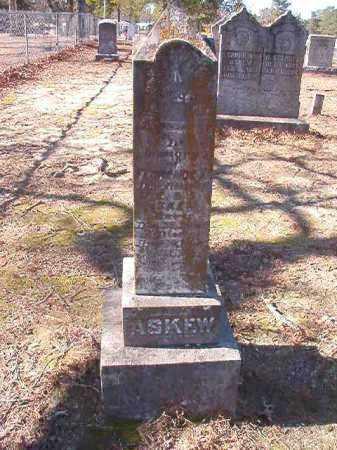 ASKEW, FLORENCE M - Nevada County, Arkansas | FLORENCE M ASKEW - Arkansas Gravestone Photos