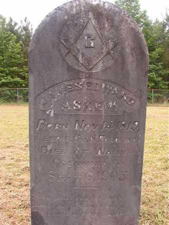 ASKEW, JAMES EDWARD - Nevada County, Arkansas   JAMES EDWARD ASKEW - Arkansas Gravestone Photos