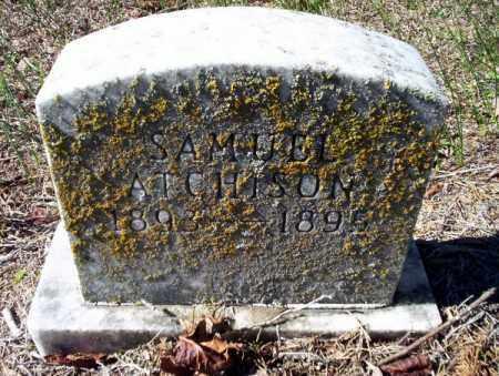 ATCHISON, SAMUEL - Nevada County, Arkansas   SAMUEL ATCHISON - Arkansas Gravestone Photos