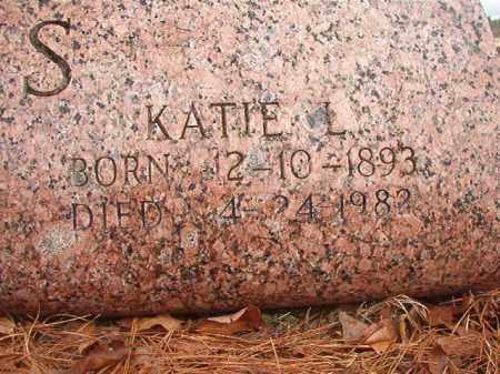 ATKINS, KATIE L - Nevada County, Arkansas | KATIE L ATKINS - Arkansas Gravestone Photos