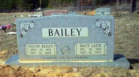 LATIN BAILEY, DAISY - Nevada County, Arkansas | DAISY LATIN BAILEY - Arkansas Gravestone Photos