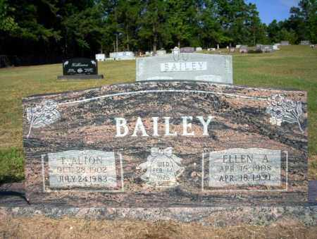 BAILEY, T ALTON - Nevada County, Arkansas | T ALTON BAILEY - Arkansas Gravestone Photos