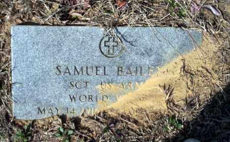 BAILEY (VETERAN WWII), SAMUEL - Nevada County, Arkansas | SAMUEL BAILEY (VETERAN WWII) - Arkansas Gravestone Photos
