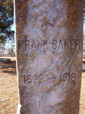 BAKER, FRANK - Nevada County, Arkansas | FRANK BAKER - Arkansas Gravestone Photos