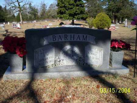BARHAM, D.W. - Nevada County, Arkansas | D.W. BARHAM - Arkansas Gravestone Photos